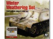 Vallejo 17ml 72220 Model Color Winter Weathering Set