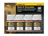 Vallejo 35ml x 4 73194 Pigment Set - Rust and Corrosion