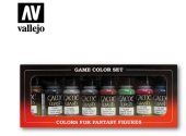 Vallejo 17ml x 8 73998 Game Color Washes Set x8