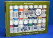 Vallejo 17ml x16 SET10 Model Colour Set No10 Napoleonic Colours (x16)