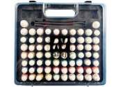 Vallejo 72 x 17ml SET70 Model Air Basic Range Box Set - 72 Colours + 3 brushes + case