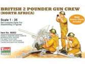 Vulcan Models 1/35 56002 British 2 Pounder Gun Crew (North Africa)