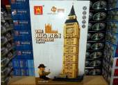 Wange - 8014 Big Ben 1642pcs - Compatible Building Blocks