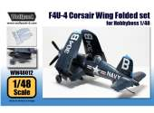 Wolfpack Design 1/48 WW48012 F4U-4 Corsair Wing Folded set