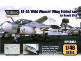 Wolfpack Design 1/48 WP48082 EA-6A Intruder Wild Weasel Wing Folded set (for Revell 1/48)