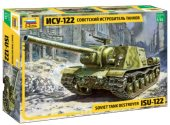 Zvezda 1/35 3534 Soviet Self-Propelled Gun ISU-122