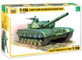 Zvezda 1/35 3550 Russian Main Battle Tank T-72B