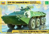 Zvezda 1/35 3587 BTR-70 with MA-7 Turret Russian APC