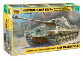 Zvezda 1/35 3601 Tiger II (King Tiger) Henschel Turret