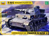Zvezda 1/35 3641 German medium tank Panzer IV Ausf.E