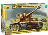 Zvezda 1/35 3646 Tiger I Ausf. E Early Production