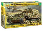 Zvezda 1/35 3653 Ferdinand Sd.Kfz.184 German Tank Destroyer