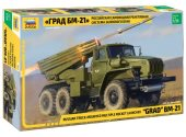 Zvezda 1/35 3655 GRAD BM-21 Russian Multiple Rocket Launcher