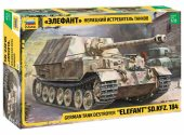 Zvezda 1/35 3659 Elefant SD.KFZ. 184 - Model Kit