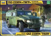Zvezda 1/35 3668 Russian Armored Vehicle GAZ-233014 Tiger