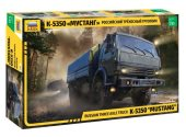 Zvezda 1/35 3697 Russian Three-Axle Army Truck K-5350 Mustang