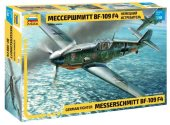 Zvezda 1/48 4806 Messerschmitt BF-109 F4 - Model Kit