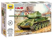 Zvezda 1/72 5039 Soviet medium tank T-34/85 - Model Kit