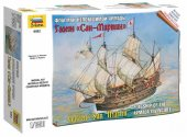 Zvezda 1/350 6502 Galleon San Martin Snap Together Kit