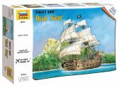 Zvezda 1/350 6514 Pirate ship Black Swan Snap Together Kit