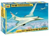 Zvezda 1/144 7002 Russian Supersonic Bomber Tupolev TU-160 Blackjack