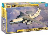 Zvezda 1/144 7024 A-50 Mainstay Russian Airbourne Early Warning and AEW