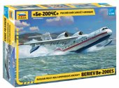 Zvezda 1/144 7034 Beriev BE-200 Amphibious Aircraft - Model Kit