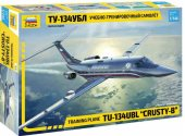 Zvezda 1/144 7036 Tupolev Tu-134UBL Crusty-B Training Plane