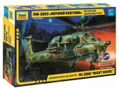 Zvezda 1/72 7255 Mil Mi-28N Russian Attack Helicopter