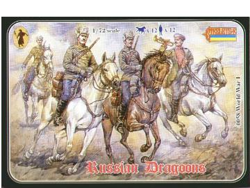 Strelets 1/72 058 WWI Russian Dragoons
