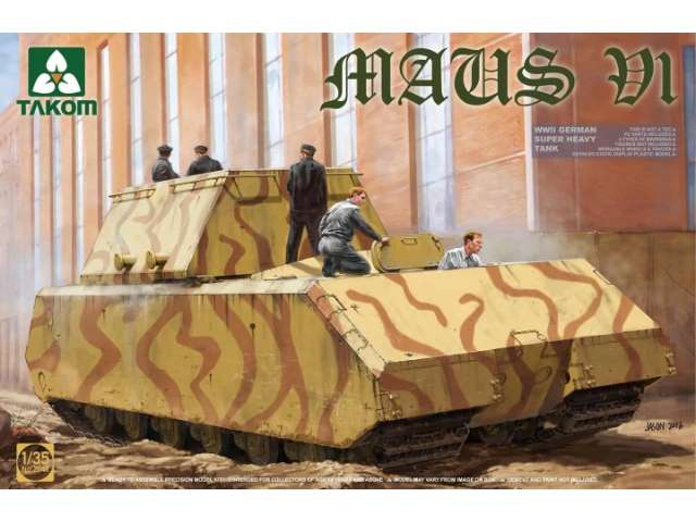 Takom WWII German Super Heavy Tank Maus V1