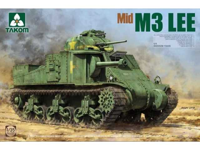 Takom 1/35 2089 US Medium Tank M3 Lee (Mid)