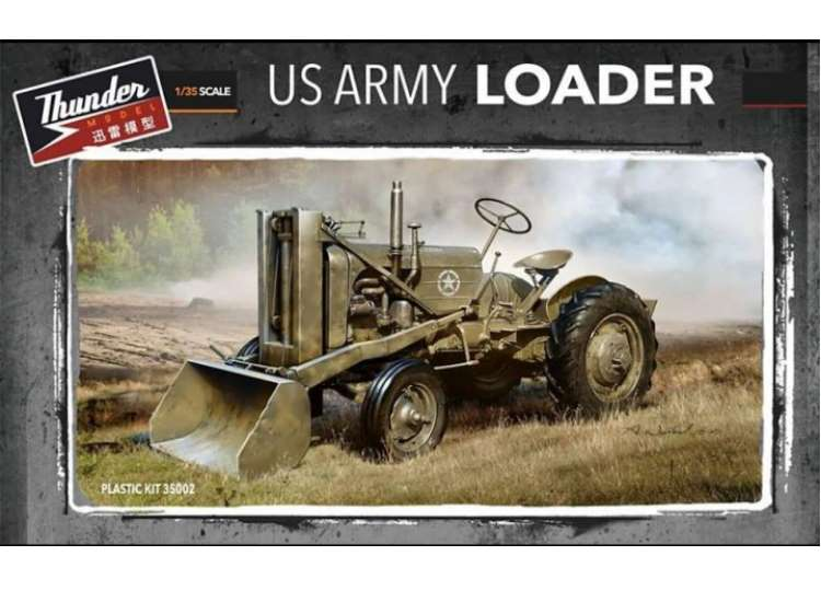 Thunder Model US Army Loader 35002