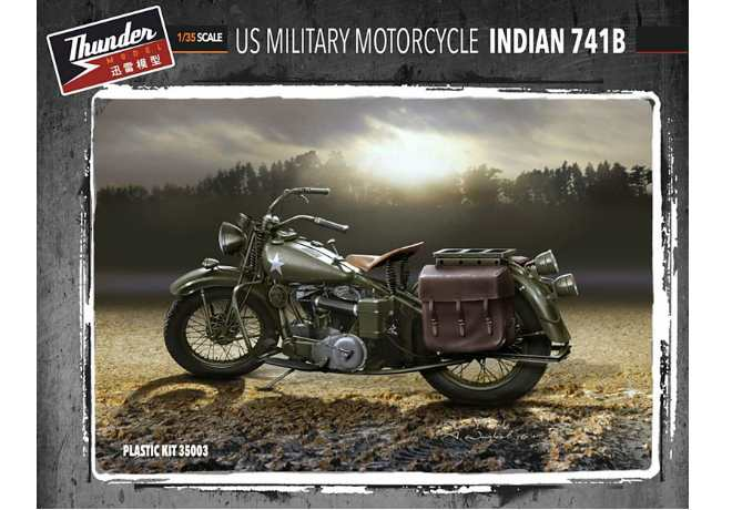 U.S. Military Motorcycle Indian 741B (2 Kits)