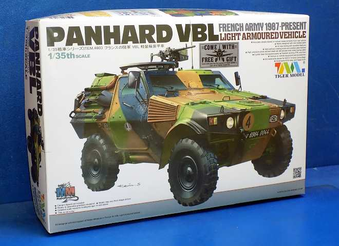 Tiger Model 1/35 4603 Panhard VBL