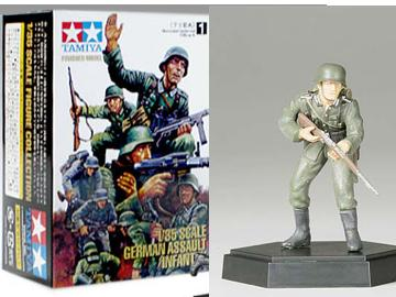 German Infantry Rifleman B - Finished Model