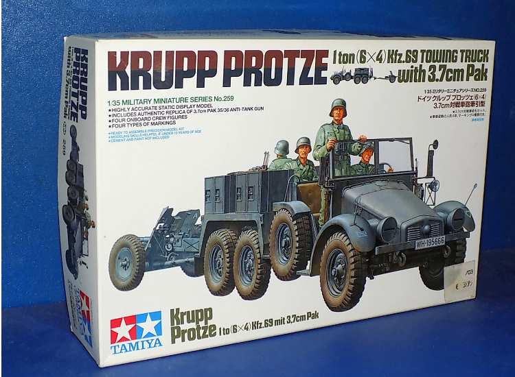 Krupp Towing Truck w/37mm Pak  - Apr