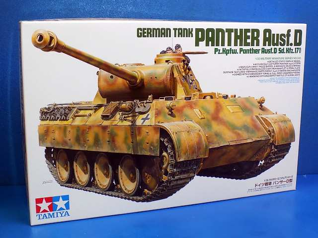# 35345 TAMIYA 1//35 GERMAN TANK PANTHER Ausf D Pz Pour Kpfw Sd.Kfz.171