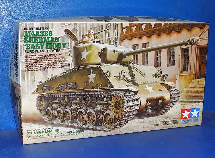Tamiya M4A3E8 Sherman Easy 8