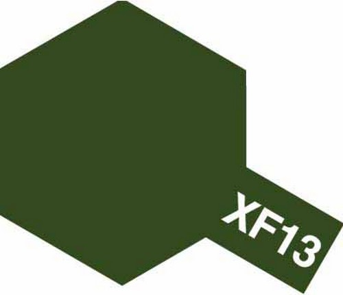 Tamiya 10ml 81713 Acrylic Mini XF13 J. A. Green
