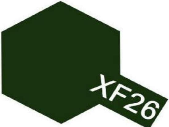 Tamiya 10ml 81726 Acrylic Mini XF26 Deep Green