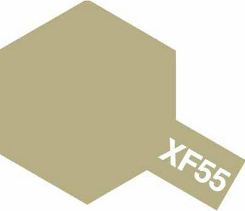 Tamiya 10ml 81755 Acrylic Mini XF55 Deck Tan