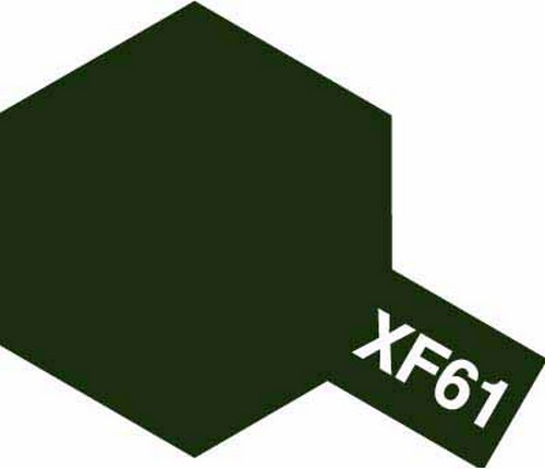 Tamiya 10ml 81761 Acrylic Mini XF61 Dark Green