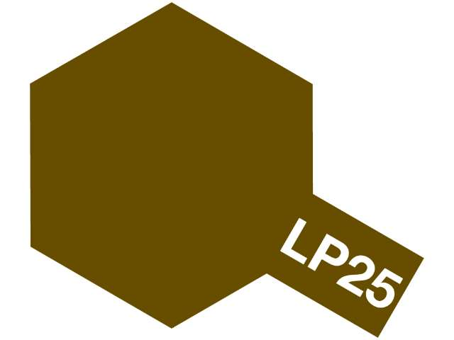 Tamiya Lacquer Paint LP25 Brown (JGSDF) 82125