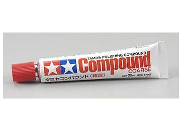 Tamiya na 87068 Polishing Compound (Coarse)