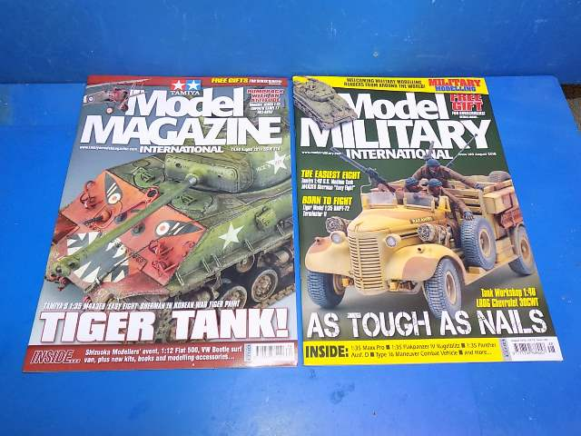 Tamiya Magazines na FREE67 FREE GIFT FOR ORDERS OVER £60 - Model Magazine and Model Military August 2018