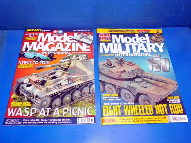 Tamiya Magazines na FREE68 FREE GIFT FOR ORDERS OVER £60 - Model Magazine and Model Military October 2018