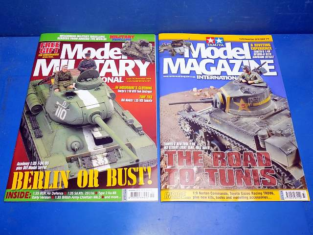 Tamiya Magazines na FREE69 FREE GIFT FOR ORDERS OVER £60 - Model Magazine and Model Military November  2018