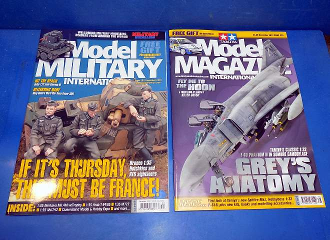 Tamiya Magazines na FREE70 FREE GIFT FOR ORDERS OVER £60 - Model Magazine and Model Military December  2018
