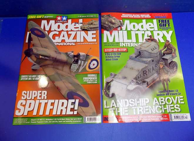 Tamiya Magazines na FREE71 FREE GIFT FOR ORDERS OVER £60 - Model Magazine and Model Military January 2019